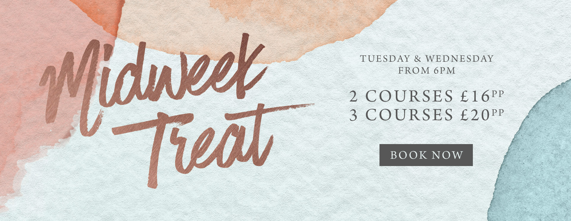 Midweek treat at The Tudor Rose - Book now